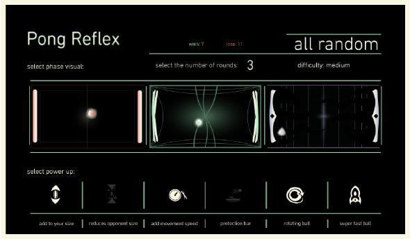 Pong Reflex • HTML5 + C2 Game - 1